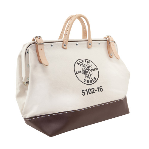 "Klein 5102-16 16"" Canvas Tool Bag"