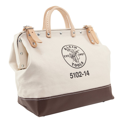 "Klein 5102-14 14"" Canvas Tool Bag"