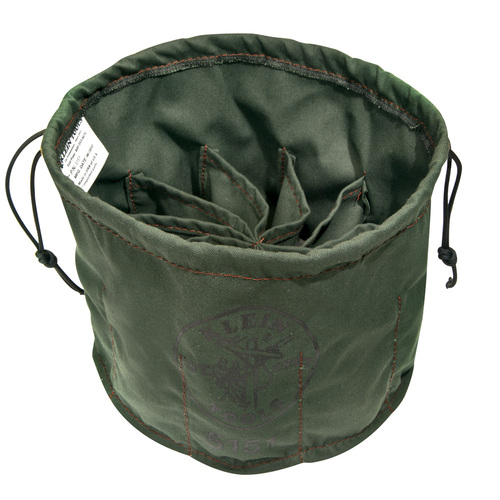 Klein 5151 10-Compartment Drawstring Bag