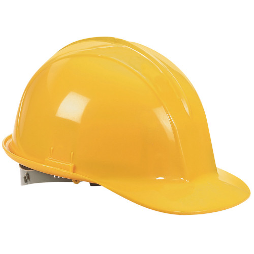 Klein 60406 Non-Vented Full Brim Style Hard Hat & Headlamp