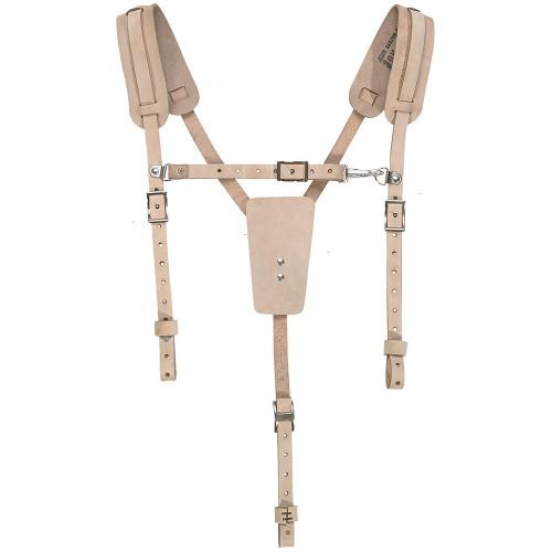 Klein 5413 Soft Leather Work Belt Suspenders