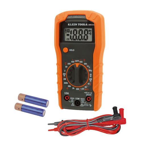 Klein MM300 600V Manual-Ranging Digital Multimeter
