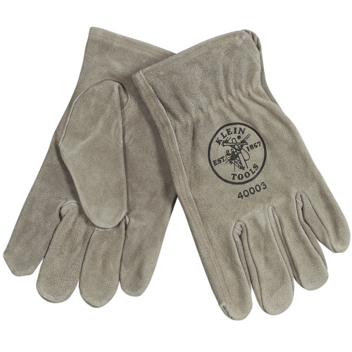 Klein 40006 Large Cowhide Driver's Gloves