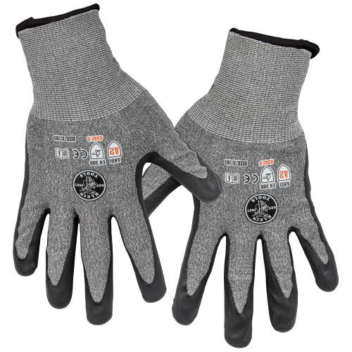 Klein 60198 2-Pair X-Large Cut Level 4 Touchscreen Work Gloves