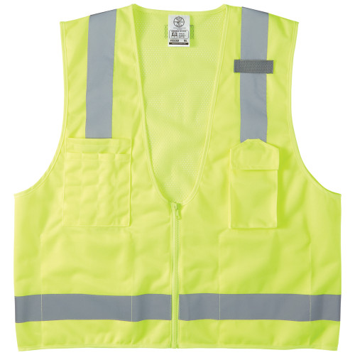 Klein 60268 X-Large High-Visibility Reflective Safety Vest