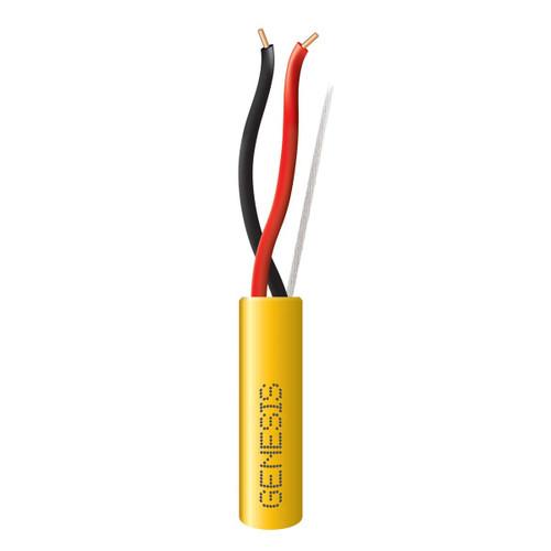 Genesis 45131002 14/2 Solid Yellow 1000Ft. Reel Plenum Wire
