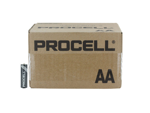 Duracell Procell PC1500 AA Alkaline Batteries, Case of 144