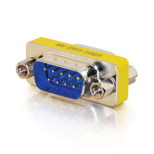C2G 02782 DB9 M/M Serial RS232 Mini Gender Changer