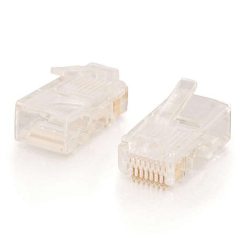 C2G 11380 RJ45 Cat5E Modular Plugs, 50 Pack