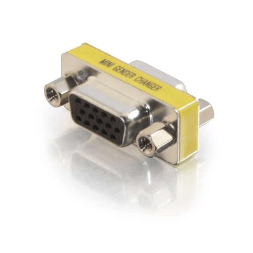 C2G 18962 HD15 VGA F/F Mini Gender Changer