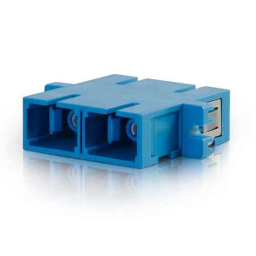 C2G 27111 SC/SC Duplex Single-Mode Fiber Optic Coupler
