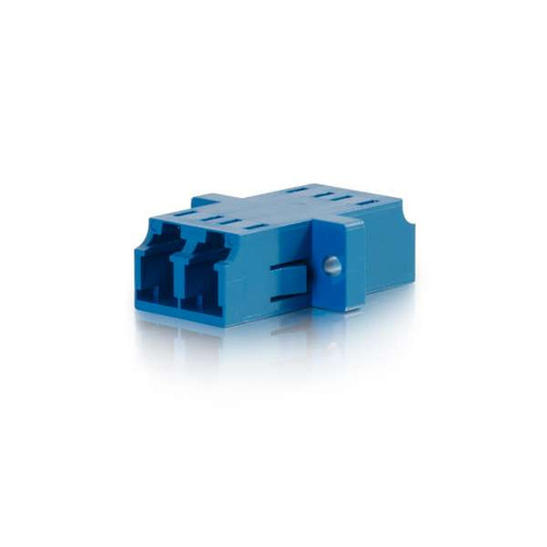 C2G 27112 LC/LC Duplex Single-Mode Fiber Optic Coupler