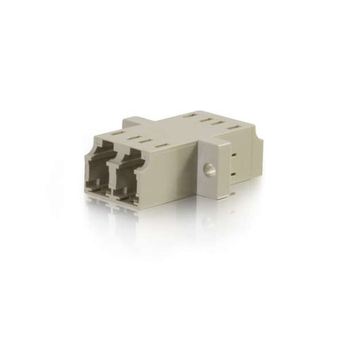 C2G 27113 LC/LC Duplex Multimode Fiber Optic Coupler