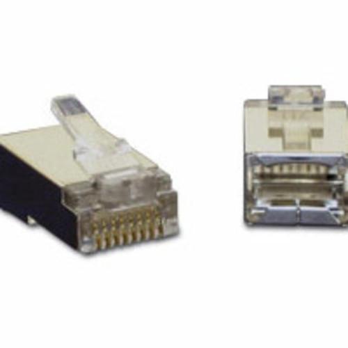 C2G 27579 RJ45 Shielded Cat5e Modular Plugs, 100 Pack