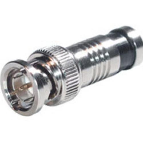 C2G 41127 RG6 Compression BNC Connectors, 50 Pack