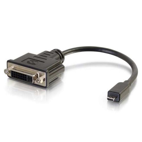 C2G 41358 Micro HDMI Male to DVI Female Adapter Converter Dongle