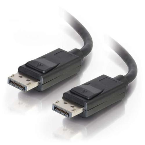 C2G 54423 1FT 8K UHD M/M Black DisplayPort Cable