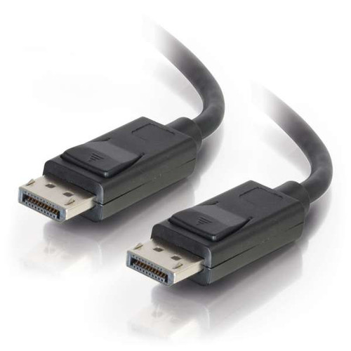 C2G 54425 30Ft 8K UHD M/M Black DisplayPort Cable