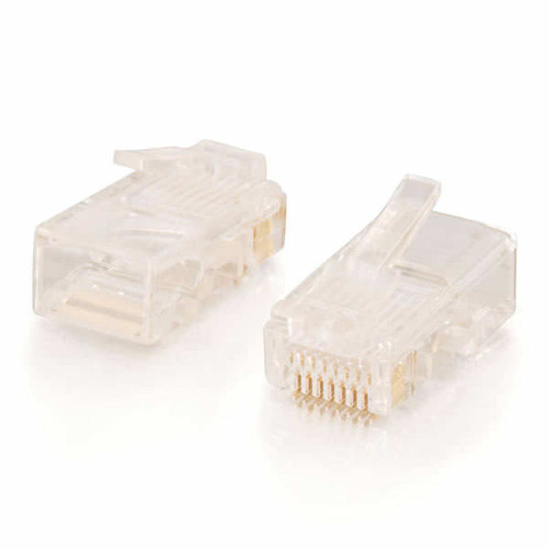 C2G 01942 Solid Flat Cable RJ45 Cat5 8x8 Modular Plug