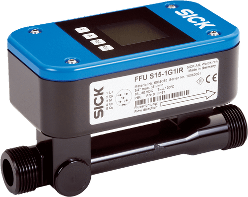 Sick 6044523 FFUS25-1C1IO Flow Sensor