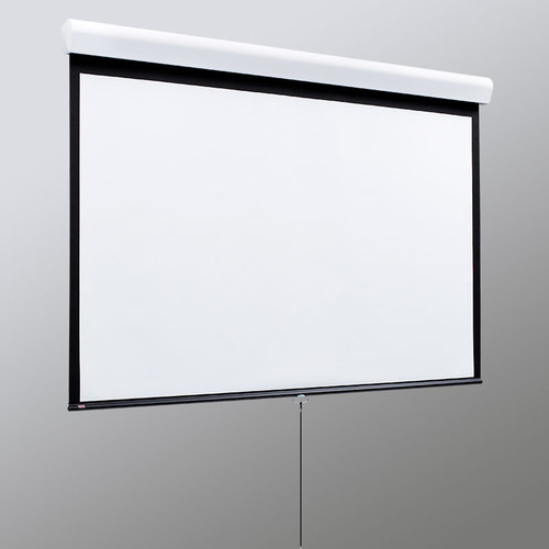 Draper Silhouette M With AR Manual Projection Screen