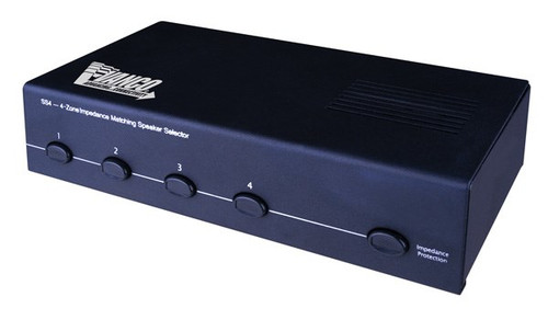 Vanco SS4 Four Pair Stereo Speaker Selector Box