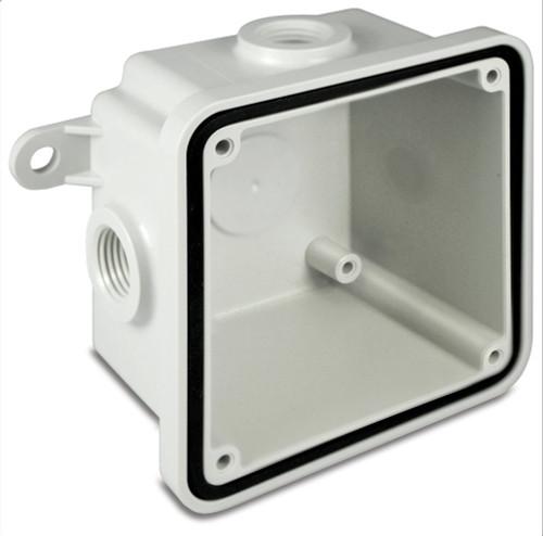 Federal Signal WB-NM Gray Non-Metallic Weatherproof Back Box