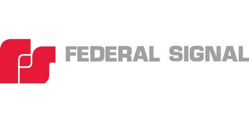 Federal Signal WMXC-4R-SB Red 4-Wire 90-Degree Wall Mounting Kit