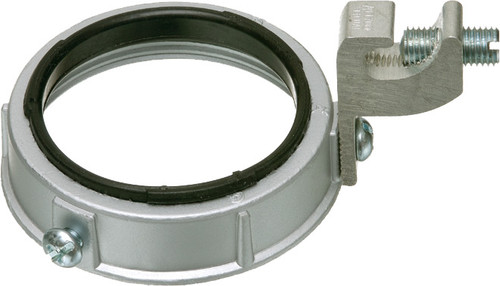 "Arlington 457250 3"" Insulated Metal Grounding Bushing, Pack of 10"