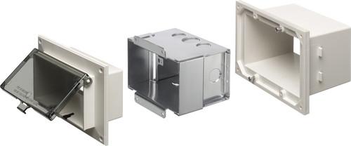 Arlington DSHB1W Metal-Box Low Profile IN BOX