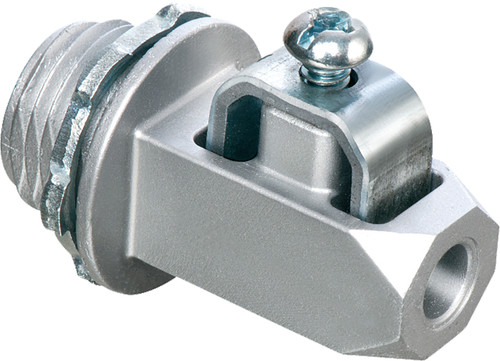 "Arlington GC50 1/2"" Zinc Grounding Connector, Pack of 25"