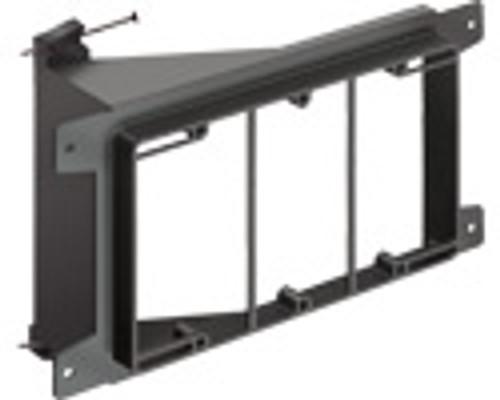 Arlington LVN3 3-Gang Low Voltage Mounting Bracket, Pack of 10