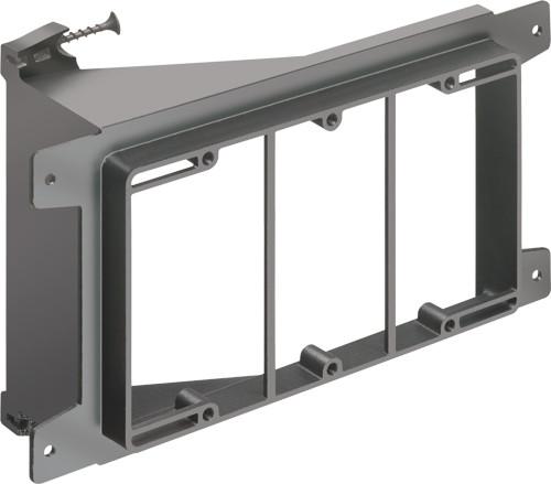 Arlington LVS3 3-Gang Low Voltage Mounting Bracket, Pack of 10
