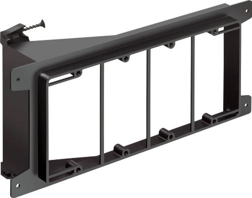 Arlington LVS4 4-Gang Low Voltage Mounting Bracket, Pack of 10