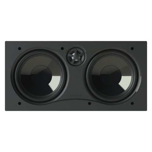 "Adept Audio IWLCR66 Dual Woofer 6.5"" In Wall LCR Home Theater Speaker"