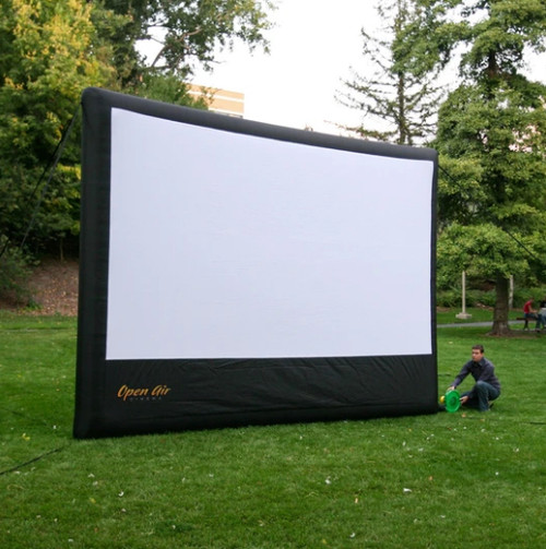 Open Air Cinema H-16 16Ft. Home Outdoor Movie Screen Kit