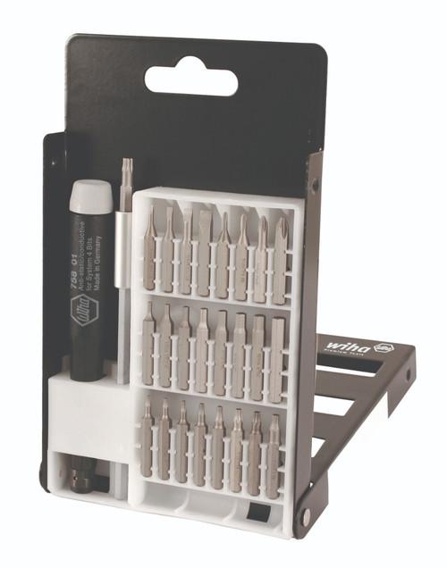 Wiha 75992 27-Piece System 4 ESD Safe MicroBits Set