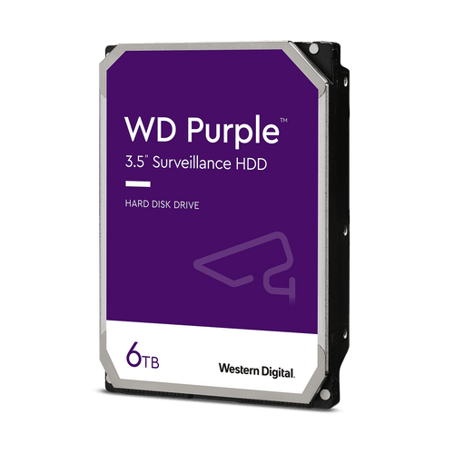 Western Digital WD60PURZ 6TB Surveillance Hard Drive