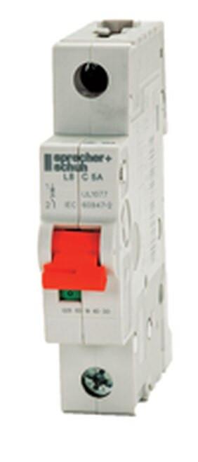 Sprecher & Schuh L8-63/1/D 63A 1-Pole Circuit Breaker