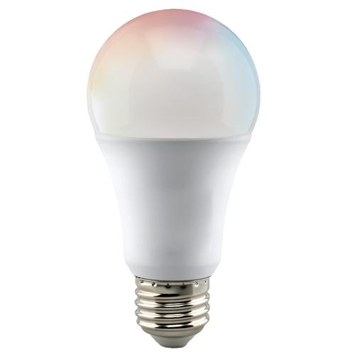 Satco S11252 Wi-Fi A19 LED RGB & Tunable White Bulb