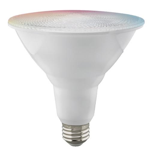Satco S11258 Wi-Fi 15W LED PAR38 RGB & Tunable White Bulb