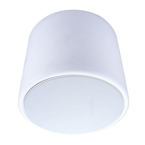 "Beale Street PESV-6W 6.5"" White Pendant Speaker Enclosure"