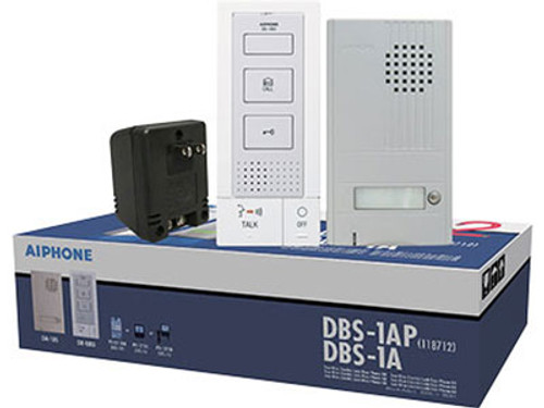 Aiphone DBS-1A Silver Door Phone Kit