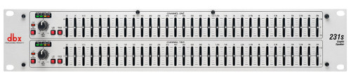 DBX 231s Dual Channel 31-Band Equalizer