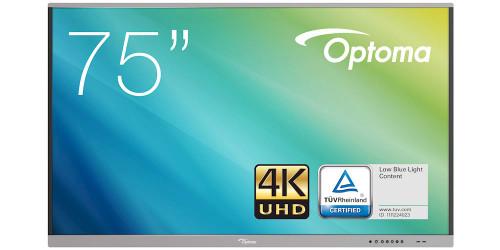 "Optoma 5751RK 75"" Interactive 4K UHD Native Flat Panel Display"