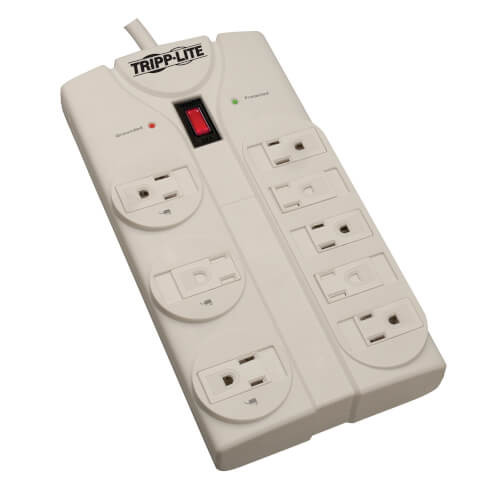 Tripp-Lite TLP825 8-Outlet Surge Protector