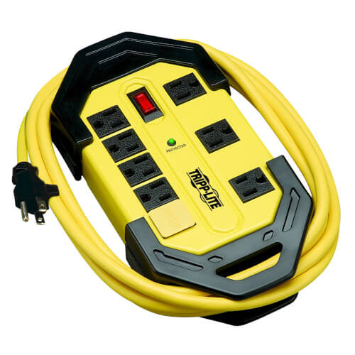 Tripp-Lite TLM812SA 8-Outlet Industrial Safety Surge Protector