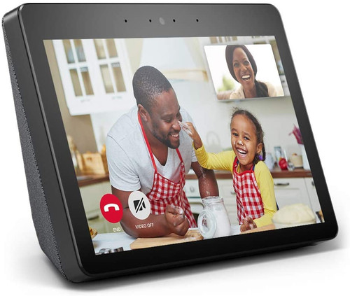 "Amazon Echo Show (2nd Gen) | Premium 10.1"" HD smart display with Alexa – stay connected with video calling - Charcoal"