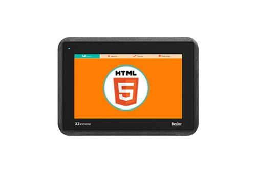 """Beijer 640020705 X2 Extreme 7 Web 7"""" HMI Panel"""