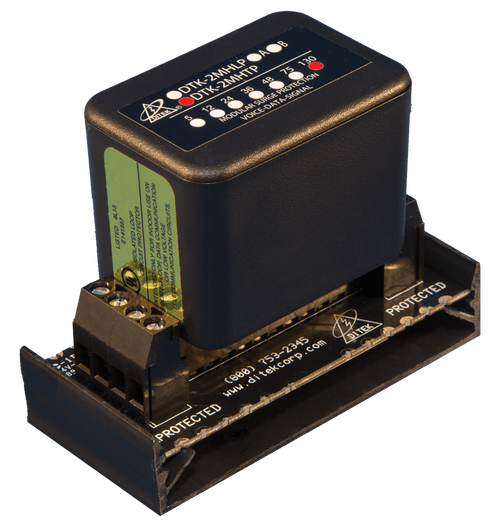 Ditek DTK-2MHTPWB Snap-Track Base Telco Surge Protector
